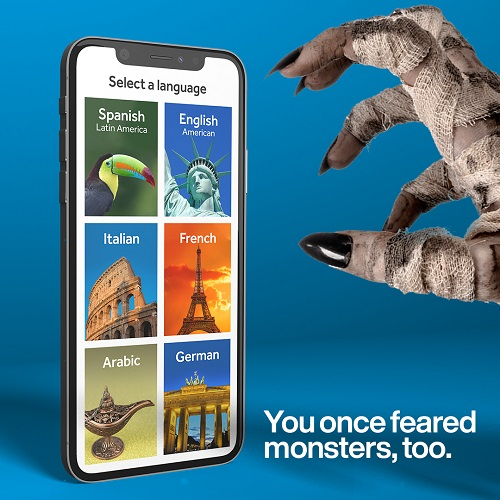 Rosetta Stone 50% off Halloween Offer