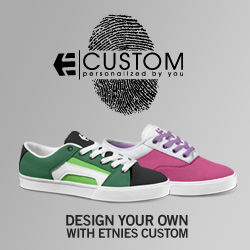 etnies Custom Shoes