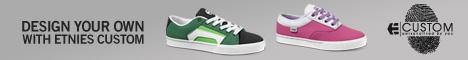 etnies custom shoe
