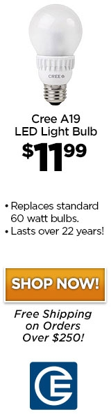 Save Time & Money with Cree's A19 LED Bulb Today