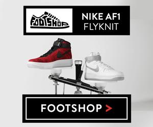 Footshop ES: Nike Af1 Flyknit
