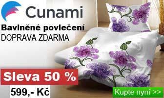 cunami povlečení na dvě postele