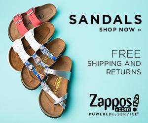 Zappos Sandals