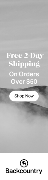 Free 2-Day Shipping at Backcountry
