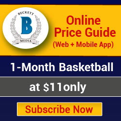 1 Month Basketball Online Price Guide (Web + Mobile App) Subscription._250x250