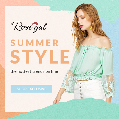 SUMMER STYLE: Up to 70% OFF with FREE SHIPPING