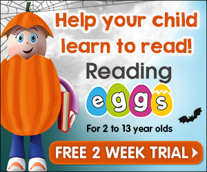 Image for Helping Children Learn to Read - Reading Eggs 300 x 250