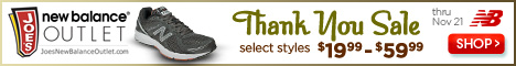 Take Advantage of $1 Shipping on Joe's New Balance Outlet – Hurry Offer Ends 10/1/2012