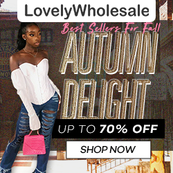 Choosing the best sellers on the Internet, find your own autumn style.