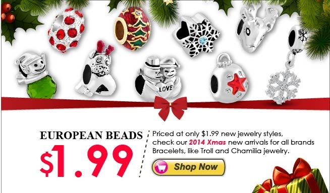 Pugster $1.99 Charms For Bracelets