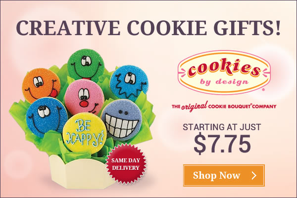 Say it with cookies - Enjoy a wide variety of gifts & treats for every occasion from Cookies by Desi