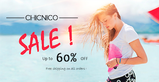 Chicnico discount codes - Get $5.00 Off Orders equal or above $40.00