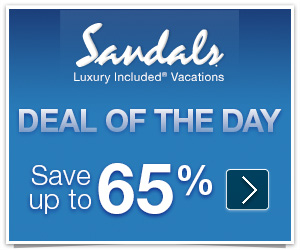 Sandals Promo Code - Up to 65% Off Deal of the Day + Free Nights