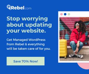Save 70% at Rebel Now!