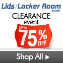 Clearance items at lids.com