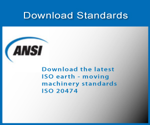 ISO 20474 earth moving machinery standards
