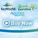 SeaWorld, Busch Gardens, & Aquatica Passes