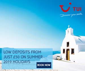 Sale now on with TUI