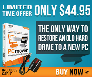 Save 30% off PCmover Image & Drive Assistant with a IDE or SATA to USB 3.0 cable with free shipping