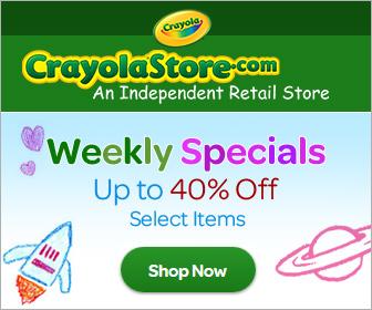Shop CrayolaStore.com's Weekly Sale!