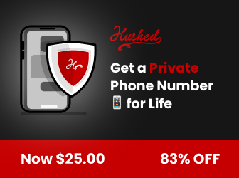 Hushed - get a second phone number for life