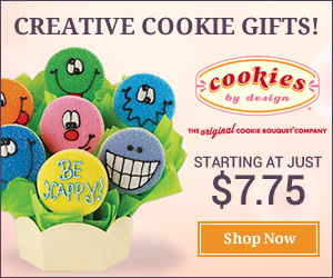 Say it with cookies - Enjoy a wide variety of gifts & treats for every occasion from Cookies by Design! Shop now!
