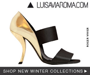 F/W 2012 women shoes collections