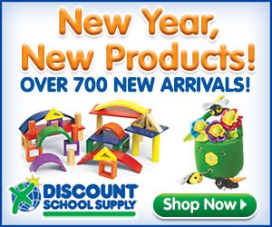 Discount School Supply New Products