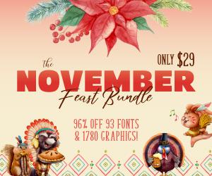 SALE!! 96% OFF Get The November Feast Bundle