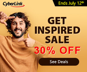 CyberLink Christmas Sale - save up-to 30%