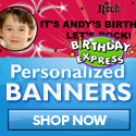 American Idol Personalized Banners