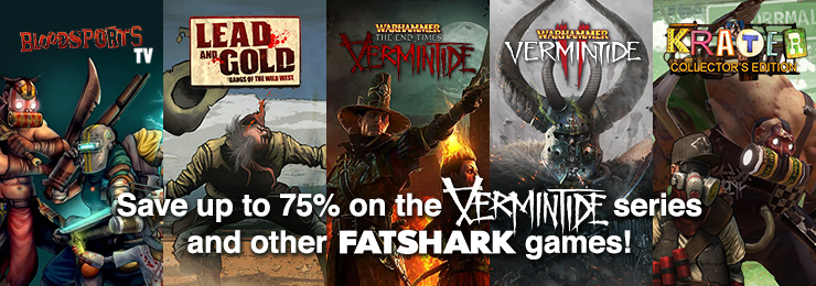 Fanatical - FatShark Games Save Upto 75% OFF