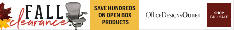 Fall Clearance - save hundreds on Open Box items + FS! (Valid 10/12/18 - 10/31/18)