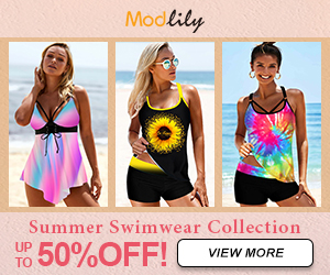 Modlily Summer Swimwear Collection: UP TO 50% OFF!