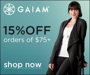 Save 15% At Gaiam.com!