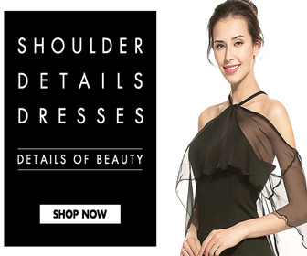 Get up to 56% OFF Shoulder Dresses.