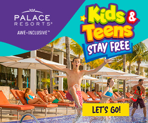 Warm up your winter with 2 for 1 savings to enjoy at Moon Palace Cancun