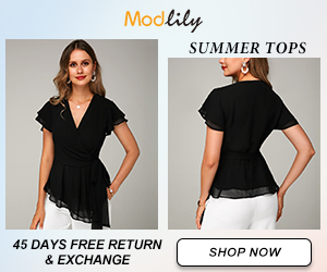 Modlily Summer Tops: Down to $16!