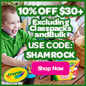 10% Off $30 with SHAMROCK