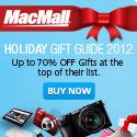Holiday Gift Guide 2012 at MacMall.com