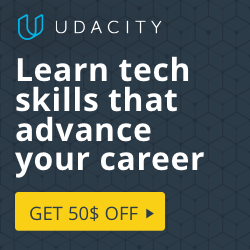 Be in demand. Get $50 off a Udacity Nanodegree Program.