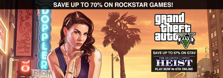 GamersGate - Save Up To 70% on Rockstar Games