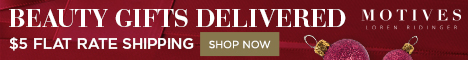 MotivesCosmetics.com - Get Gifts Delivered for $5 Flat Rate Shipping