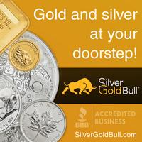 Silver and Gold at your doorstep! - Buy at SilverGoldBull.com