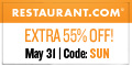 Restaurant.com Weekly Promo Banner 120x60