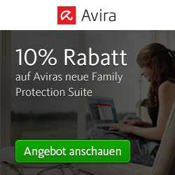 10% Rabatt auf die Avira Family Protection Suite