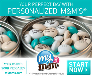 Promote your business with personalized M&M�S�.