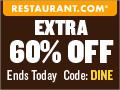 Restaurant.com Weekly Promo Banner 120x90