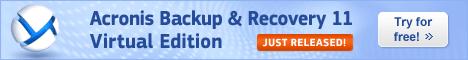 Acronis Backup & Recovery 11 Advanced Server Virtu