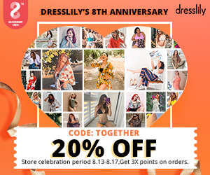 2020 Dresslily 8th Anniversary